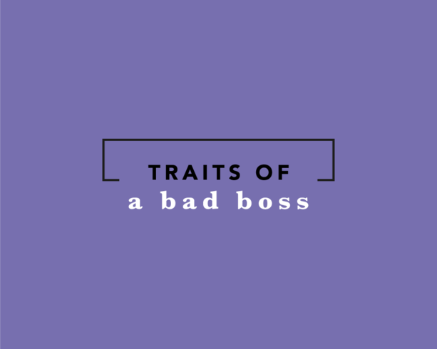 Traits Of A Bad Boss